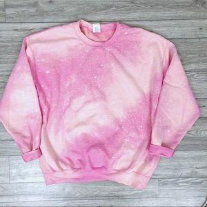 NEW Pink Galaxy Sweatshirts Spring S-4X Soft